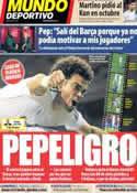 Portada Mundo Deportivo del 19 de Marzo de 2014
