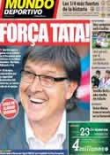 Portada Mundo Deportivo del 20 de Marzo de 2014