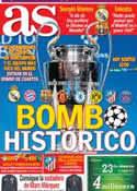 Portada diario AS del 21 de Marzo de 2014