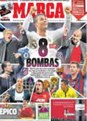 Portada diario Marca del 21 de Marzo de 2014