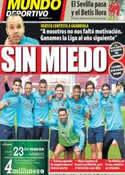 Portada Mundo Deportivo del 21 de Marzo de 2014