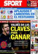 Portada diario Sport del 22 de Marzo de 2014