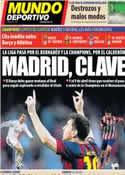 Portada Mundo Deportivo del 22 de Marzo de 2014