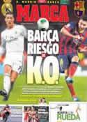 Portada diario Marca del 23 de Marzo de 2014