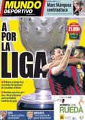Portada Mundo Deportivo del 23 de Marzo de 2014