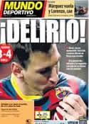 Portada Mundo Deportivo del 24 de Marzo de 2014