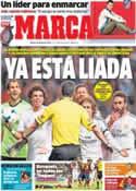 Portada diario Marca del 25 de Marzo de 2014