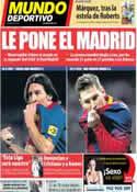 Portada Mundo Deportivo del 25 de Marzo de 2014