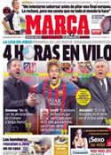 Portada diario Marca del 26 de Marzo de 2014