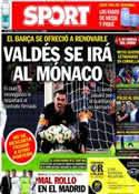 Portada diario Sport del 28 de Marzo de 2014