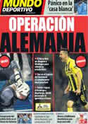 Portada Mundo Deportivo del 28 de Marzo de 2014