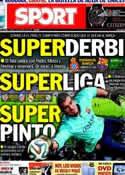 Portada diario Sport del 29 de Marzo de 2014
