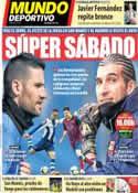 Portada Mundo Deportivo del 29 de Marzo de 2014