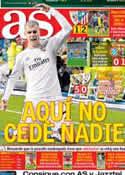 Portada diario AS del 30 de Marzo de 2014