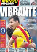 Portada Mundo Deportivo del 30 de Marzo de 2014
