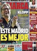 Portada diario Marca del 31 de Marzo de 2014