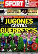 Portada diario Sport del 31 de Marzo de 2014