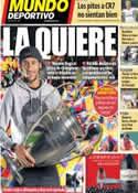 Portada Mundo Deportivo del 31 de Marzo de 2014