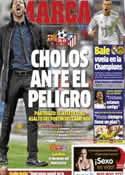 Portada diario Marca del 1 de Abril de 2014