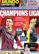 Portada Mundo Deportivo del 1 de Abril de 2014