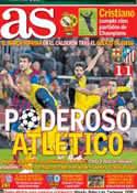 Portada diario AS del 2 de Abril de 2014