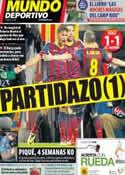 Portada Mundo Deportivo del 2 de Abril de 2014