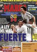 Portada diario Marca del 3 de Abril de 2014