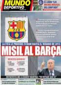 Portada Mundo Deportivo del 3 de Abril de 2014