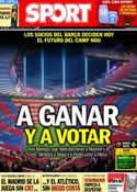 Portada diario Sport del 5 de Abril de 2014