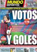 Portada Mundo Deportivo del 5 de Abril de 2014