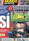 Portada Mundo Deportivo del 6 de Abril de 2014