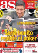 Portada diario AS del 7 de Abril de 2014