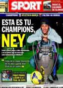 Portada diario Sport del 7 de Abril de 2014