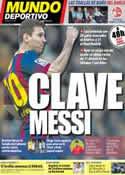 Portada Mundo Deportivo del 7 de Abril de 2014