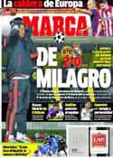 Portada diario Marca del 9 de Abril de 2014