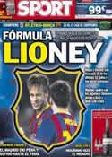 Portada diario Sport del 9 de Abril de 2014