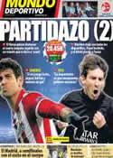 Portada Mundo Deportivo del 9 de Abril de 2014