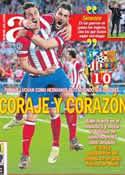 Portada diario AS del 10 de Abril de 2014