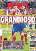 Portada diario Marca del 10 de Abril de 2014