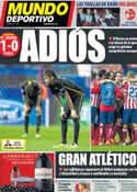 Portada Mundo Deportivo del 10 de Abril de 2014