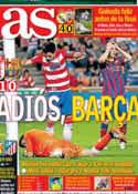 Portada diario AS del 13 de Abril de 2014
