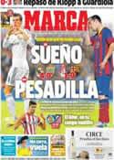 Portada diario Marca del 13 de Abril de 2014