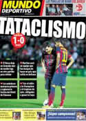 Portada Mundo Deportivo del 13 de Abril de 2014