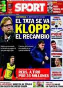 Portada diario Sport del 14 de Abril de 2014
