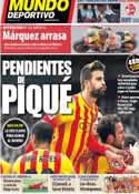 Portada Mundo Deportivo del 14 de Abril de 2014