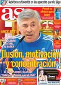 Portada diario AS del 15 de Abril de 2014