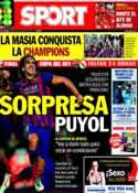 Portada diario Sport del 15 de Abril de 2014