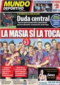 Portada Mundo Deportivo del 15 de Abril de 2014