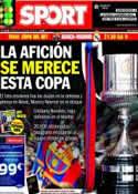 Portada diario Sport del 16 de Abril de 2014