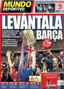 Portada Mundo Deportivo del 16 de Abril de 2014